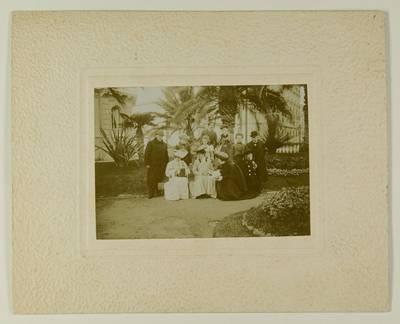Kosakovskių šeimos archyvas. 7 : Ikonografija. - 1790-[1919]. 1584 : [Stanislovo Kazimiero Kosakovskio šeimos kelionės į Neapolį nuotraukos]. - 189-