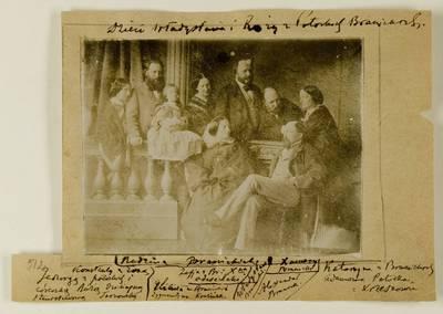 Kosakovskių šeimos archyvas. 7 : Ikonografija. - 1790-[1919]. 1645 : [Rožė Potockytė ir Vladislovas Branickiai su vaikais. - 189-