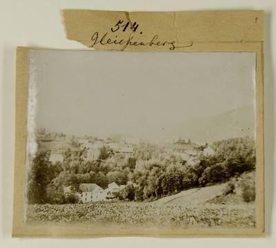 Kosakovskių šeimos archyvas. 7 : Ikonografija. - 1790-[1919]. 1758 : [Gleichenbergo ir Teplicės kurortų vaizdai] / fotogr. Stanislovas Kazimieras Kosakovskis?. - 189-