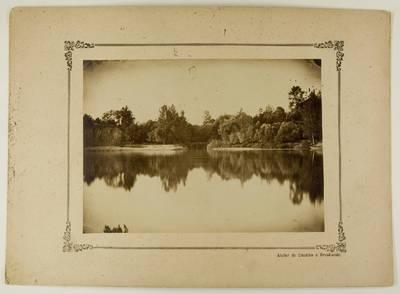 Kosakovskių šeimos archyvas. 7 : Ikonografija. - 1790-[1919]. 1761 : [Nemuno upės ties Druskininkais vaizdai] / fotogr. F. Chodzka. - 189-