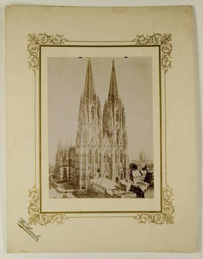 Kosakovskių šeimos archyvas. 7 : Ikonografija. - 1790-[1919]. 1762 : [Kelno katedros nuotraukos] / fotogr. Stanislovas Kazimieras Kosakovskis. - 189-