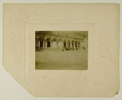 Kosakovskių šeimos archyvas. 7 : Ikonografija. - 1790-[1919]. 1768 : [San Marco aikštės Venecijoje vaizdai / fotogr. Stanislovas Kazimieras Kosakovskis. - 189-