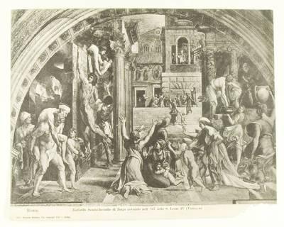 Kosakovskių šeimos archyvas. 7 : Ikonografija. - 1790-[1919]. 1771 : [Dailininko Rafaelio freskų Vatikane reprodukcijos iš Mykolo Stanislovo Kosakovskio rinkinių]. - 19--