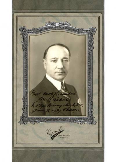 Aleksandro Račkaus rankraščių fondas. VI : Ikonografija. - 1890-[1940]. 535 : [JAV lietuvių politinės organizacijos
