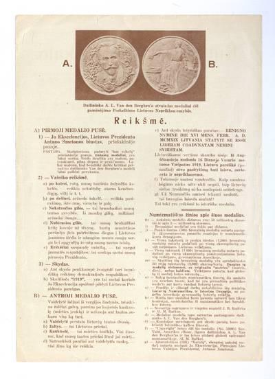 Kurėjas Lietuvai veikalo / Al. R-s. - 1919