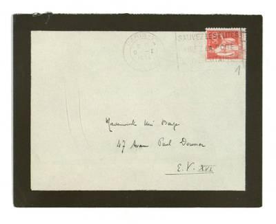 Unės Babickaitės rankraščių fondas. - 1903-1961 : [Rašytojo Jacques Deval laiškai Unei Baye (Babickaitei)] / Jacques Deval. - 1934