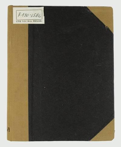 Grammatica Linguæ Lotavicæ. - 1817