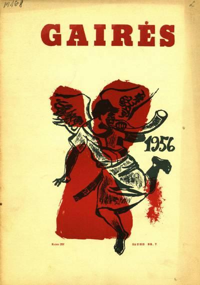 Gairės. - 1955-1957