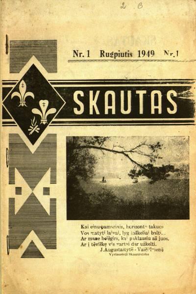 Skautas / atsakomasis redaktorius sktn. Vladas Sarunas. - 1949