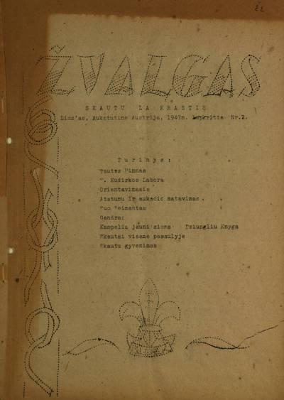 Žvalgas. - 1947-1948