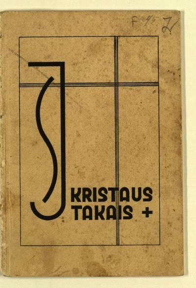 Kristaus takais. - 1933