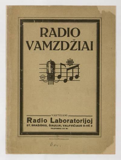 Radio vamzdžiai. - 1927