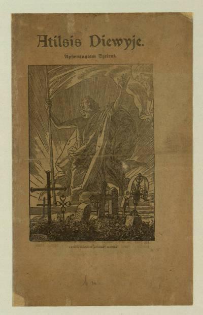 Atilsis Diewyje / [iš vokiečių kalbos vertė H. Reidys]. - 1920