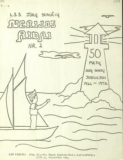 Nerijos aidai / LSS nerijos jūrų skaučių tunto neperiodinis laikraštėlis. - 1972