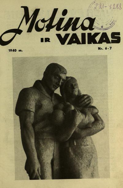 Motina ir vaikas / [Lietuvos vaiko draugija]. - 1929-1940
