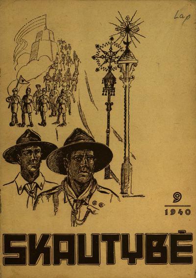 Skautybė / redaktorius K. Palčiauskas. - 1936-1940
