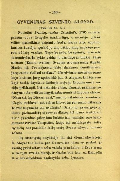 Bažnyczios tarnas, arba Pasiuntinys saldžiausios szirdies Jezaus / [red.] Juozas Didinskas (Dydynskas). - 1899-1904