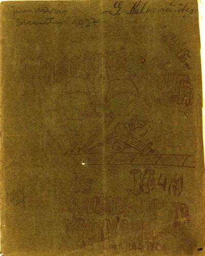 Jaunasis skautas / redaktorius M. Vidžiūnas. - 1926?]-1927