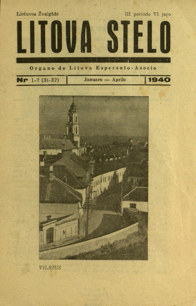 Lietuvos žvaigždė / ats. red. Vladas Butkus (Vl. Butkevičius). - 1914; 1922-1926; 1935-1940; 1991-