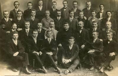 Kompozitoriaus Juozo Naujalio vargonininkų kursai. 1925