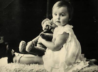 Marijos Rasteikaitės vaikystės fotografija. 1932