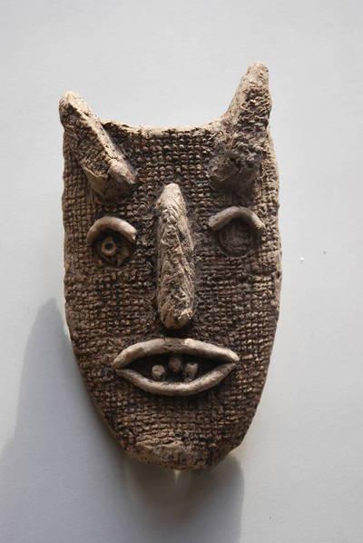 """Irena Rutkauskaitė. Kaukė """"Velnias"""". 1950"""