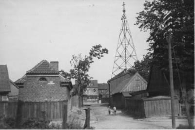 Nežinomas autorius. Klaipėda. Gatvelė Bomelio Vitės priemiestyje. 1930