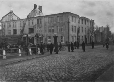 "Max Ehrhardt. Šilutė. ""Germanijos"" viešbutis po gaisro. 1923"