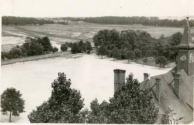 Nežinomas autorius. Klaipėdos apylinkės vaizdas iš kareivinių. 1930
