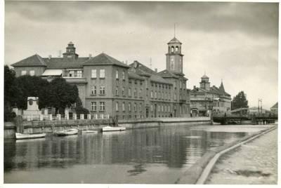 Nežinomas autorius. Klaipėdos miesto centrinė dalis prie Biržos tilto. 1940