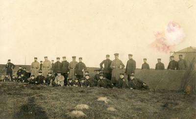 Nežinomas autorius. Vokietijos kariuomenės aviacijos dalinys Kelne – Bickendorf'e. 1916