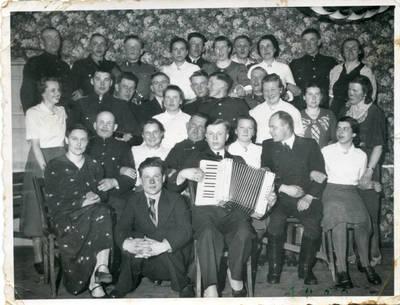 Nežinomas autorius. Savanoriškos moterų darbo tarnybos stovykla Lankupiuose. 1940
