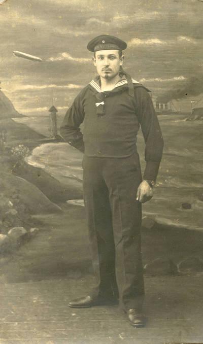 Nežinomas autorius. Mikas Brizgys Pirmojo pasaulinio karo metais. 1915