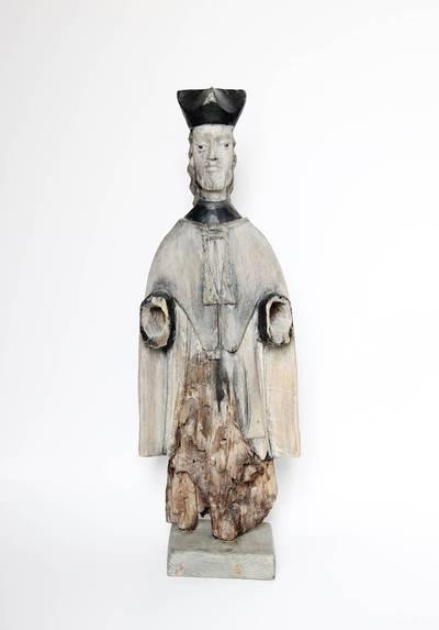 Nežinomas liaudies skulptorius. Šv. Jonas Nepomukas