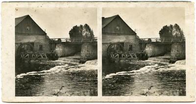 Nežinomas autorius. Pagraumenės vandens malūnas netoli Šalpės ir Graumenos upelių santakos. 1930