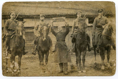 Nežinomas autorius. Lietuvos kariuomenės savanoriai iš Eržvilko. 1919