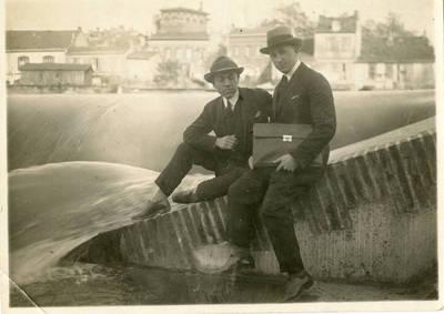 Nežinomas autorius. Vytautas Soblys Tulūzoje. 1926