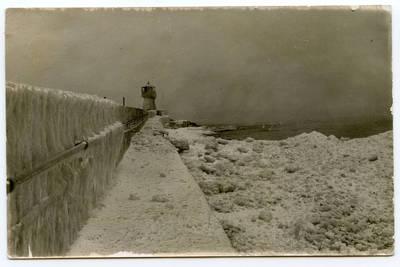 Nežinomas autorius. Klaipėda. Baltasis švyturys ant Šiaurės molo. 1922
