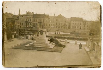 Nežinomas autorius. Nuverstas Borusijos paminklas Klaipėdoje. 1923