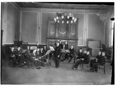 Nežinomas autorius. Klaipėdos mokytojų seminarijos studentų orkestras. Vadovas Willy Ludewigsas. 1940