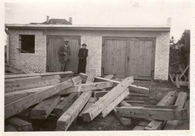 Nežinomas autorius. Nuotrauka. Balys Sruoga ir Bronislava Sruogienė. 1938