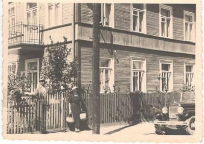 Nežinomas autorius. Nuotrauka. Balys Sruoga su žmona Vanda Daugirdaite-Sruogiene. 1935