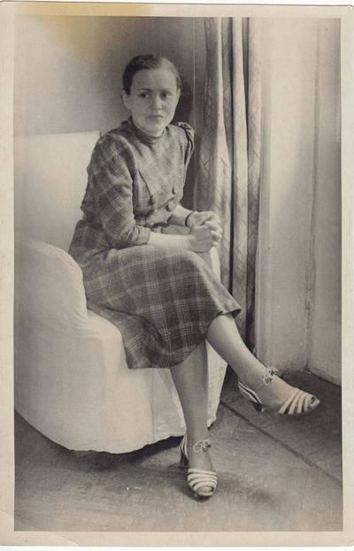 Nuotrauka. Salomėja Nėris. 1940