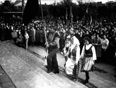 Algimantas Boratinskas. Fotografija. 1988-10-02
