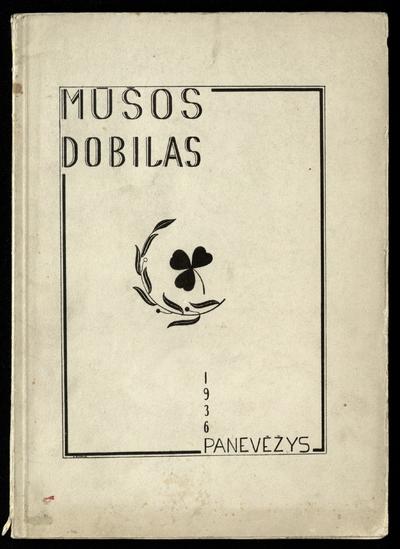 Mūšos Dobilas. - 1936