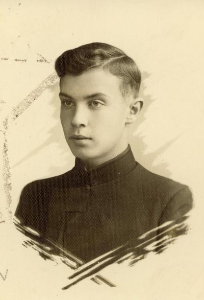 Biržų gimnazijos moksleivis Eugenijus Matuzevičius / Eugenijus Matuzevičius. - 1933.08.01-1935.09.19