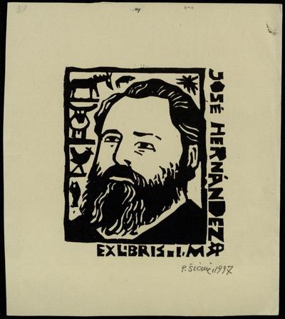 Ex libris José Hernández  I. M. / P[ovilas] Šiaučiūnas. - 1997
