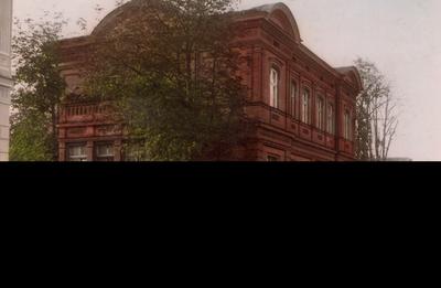 Gydytojo, visuomenės veikėjo Tado Moigio namai Vasario 16-osios g. Nr. 23 (dabar - Panevėžio kraštotyros muziejus). - apie 1930