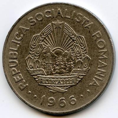 Rumunija, 1 lėja, 1966 m. 1960
