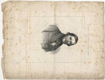 Marie-Alexandre Alophe. Jozefo Merio portretas. 1845